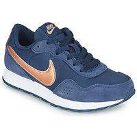 Zapatos Niños Zapatillas bajas Nike MD VALIANT GS Azul / Cobre
