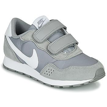 Zapatos Niños Zapatillas bajas Nike MD VALIANT PS Gris / Blanco