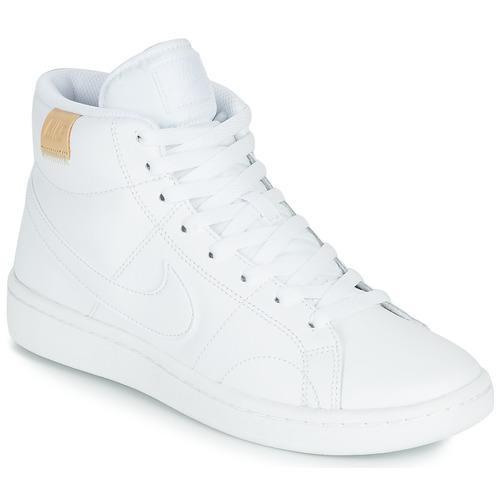 Zapatos Mujer Zapatillas bajas Nike COURT ROYALE 2 MID Blanco