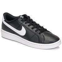 Zapatos Mujer Zapatillas bajas Nike Court Royale 2 Negro / Blanco