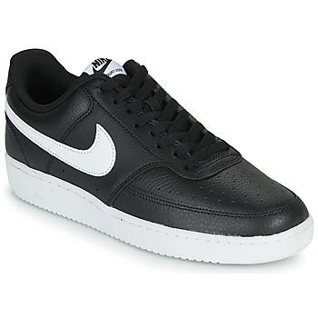 Zapatos Hombre Zapatillas bajas Nike COURT VISION LOW Negro / Blanco