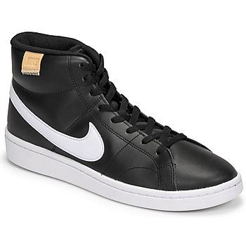 Zapatos Hombre Zapatillas bajas Nike COURT ROYALE 2 MID Negro / Blanco