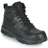 Zapatos Niños Zapatillas bajas Nike MANOA LTR GS Negro