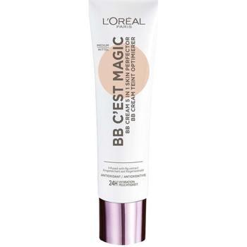 Belleza Mujer Maquillage BB & CC cremas L'oréal Bb C'Est Magig Bb Cream Skin Perfector 04-medium 30 ml