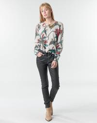 textil Mujer Pantalones con 5 bolsillos One Step FR29031_02 Negro