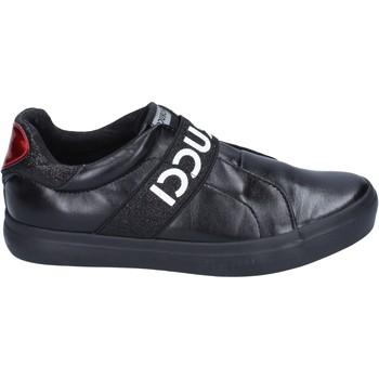 Zapatos Niña Slip on Fiorucci slip on cuero sintético negro