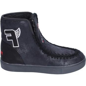 Zapatos Niña Botines Fiorucci botines gamuza sintética negro
