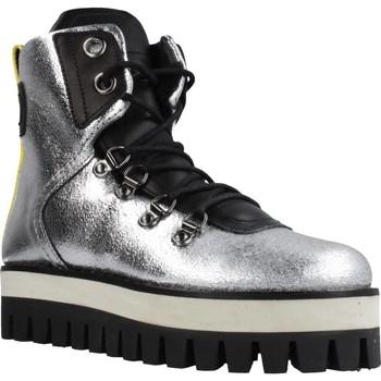 Zapatos Mujer Botas de caña baja Buffalo GESINA Plata