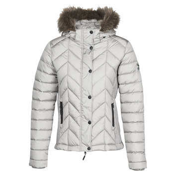 textil Mujer Plumas Superdry LUXE FUJI PADDED JACKET Plata