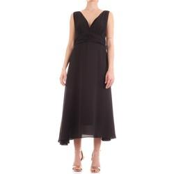 textil Mujer vestidos largos Fly Girl 9845-01 negro