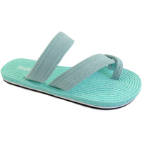 Zapatos Mujer Chanclas Brasileras Vibra Water Green