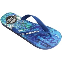 Zapatos Hombre Chanclas Brasileras Chanclas de playa ®, Feel BCN Park Blue Navy