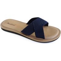 Zapatos Mujer Chanclas Brasileras Loto Blue Navy