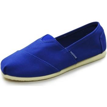 Zapatos Alpargatas Brasileras Alpargata Espargatas®,Espargatas Clasica Blue Royal
