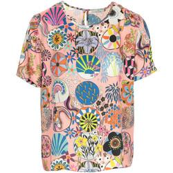 textil Mujer Camisetas manga corta Paul Smith Top Rosa