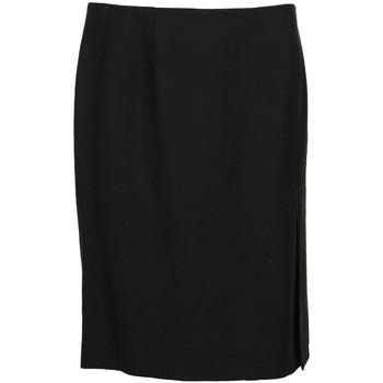 textil Mujer Faldas Paul Smith Jupe courte droite laine Negro