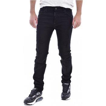 textil Hombre Vaqueros slim Dsquared Pantalones S71LB0525 - Hombres negro