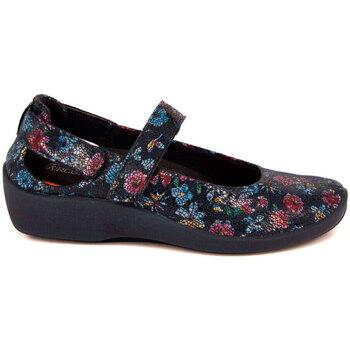 Zapatos Mujer Bailarinas-manoletinas Arcopedico L-51 LICRA LAYTECH ESTAMPADA AZUL AZUL