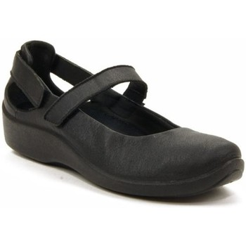 Zapatos Mujer Bailarinas-manoletinas Arcopedico L-51 LICRA LAYTECH NEGRA NEGRO
