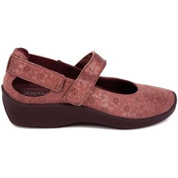 Zapatos Mujer Bailarinas-manoletinas Arcopedico L-51 LICRA LAYTECH ESTAMPADA ROSA ROSA