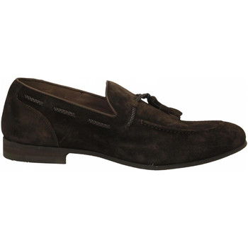 Zapatos Hombre Mocasín Brecos CASHMIRE testa-di-moro