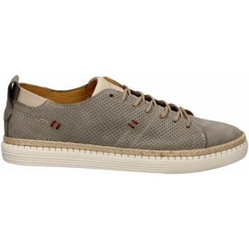Zapatos Hombre Derbie Café Noir SNEAKER ALLACCIATA IN NABUK 400-silver