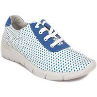 Zapatos Mujer Zapatillas bajas Arcopedico JUNO-F82 AZUL-BLANCO AZUL