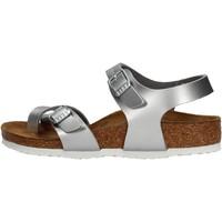 Zapatos Niña Sandalias Birkenstock - Taormina argento 1017923 ARGENTO