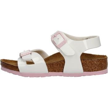 Zapatos Niña Sandalias Birkenstock - Rio bianco vr 1017924 BIANCO
