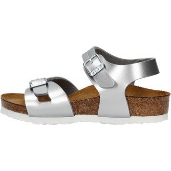 Zapatos Niña Sandalias Birkenstock - Rio argento 1012518 ARGENTO