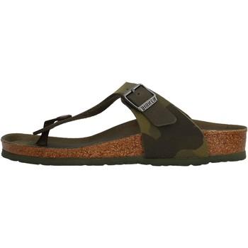 Zapatos Niño Chanclas Birkenstock - Gizeh verde 1015597 VERDE