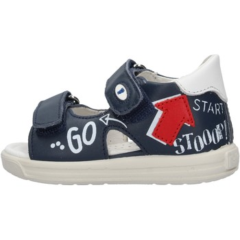 Zapatos Niño Sandalias Falcotto - Sandalo blu NORTE-1C49 BLU