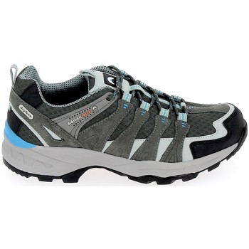 Zapatos Hombre Senderismo Elementerre Bardenas Gris Bleu Gris