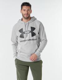 textil Hombre Sudaderas Under Armour UA RIVAL FLEECE BIG LOGO HD Gris / Claro