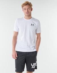 textil Hombre Camisetas manga corta Under Armour SPORTSTYLE LEFT CHEST SS Blanco