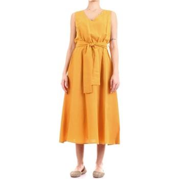 textil Mujer Vestidos largos Fly Girl 9890-02 amarillo