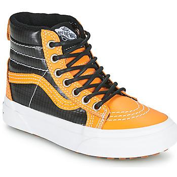 Zapatos Niño Zapatillas altas Vans SK8-HI MTE Camel / Negro