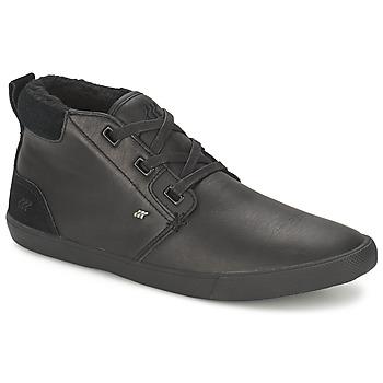 Zapatos Hombre Zapatillas altas Boxfresh SKELT FUR LEATHER Negro