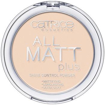 Belleza Mujer Colorete & polvos Catrice All Matt Plus Shine Control Powder 010-transparent 10 Gr 10 g