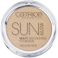 Belleza Mujer Colorete & polvos Catrice Sun Glow Matt Bronzing Powder 030-medium Bronze 9,5 Gr 9,5 g
