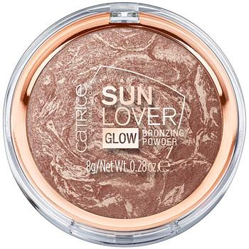 Belleza Mujer Colorete & polvos Catrice Sun Lover Glow Bronzing Powder 010-sun-kissed Bronze 8 Gr 8 g