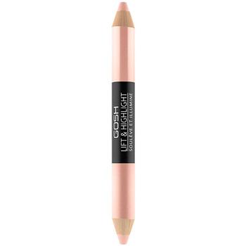 Belleza Mujer Lápiz de ojos Gosh Lift & Highlight Multifunctional Pen 002-rose 2,98 Gr