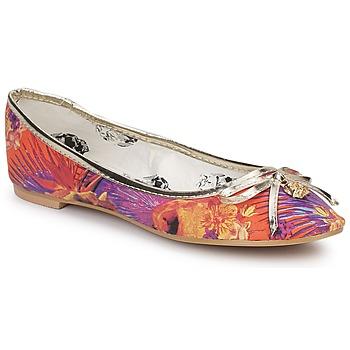 Zapatos Mujer Bailarinas-manoletinas Iron Fist REINA MUERTE BALLERINA FLAT Multicolor