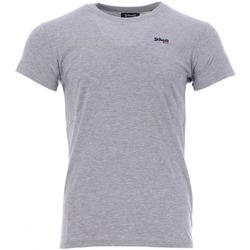 textil Hombre Camisetas manga corta Schott  Gris