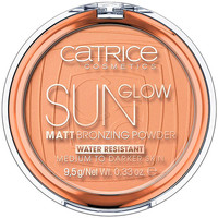 Belleza Mujer Colorete & polvos Catrice Sun Glow Matt Bronzing Powder 035-universal Bronze 9,5 Gr 9,5