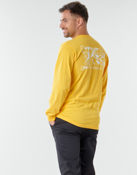 textil Hombre Camisetas manga larga Vans 66 SUPPLY LS Amarillo