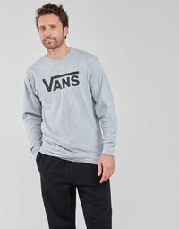 textil Hombre Camisetas manga larga Vans VANS CLASSIC LS Gris