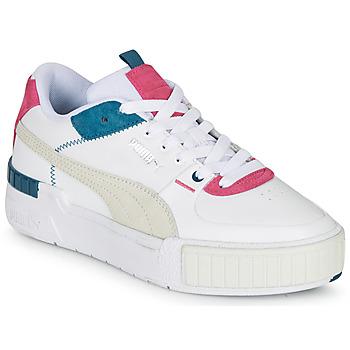 Zapatos Mujer Zapatillas bajas Puma CALI SPORT Blanco / Gris