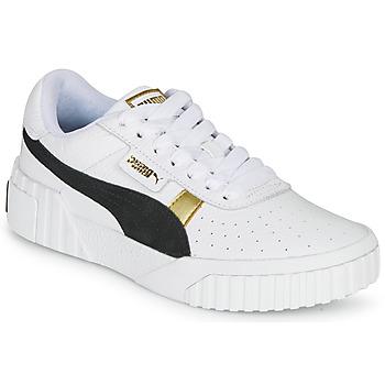 Zapatos Mujer Zapatillas bajas Puma CALI VARSITY Blanco / Negro