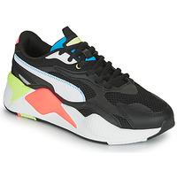 Zapatos Zapatillas bajas Puma RS-X3 Negro / Blanco / Coral